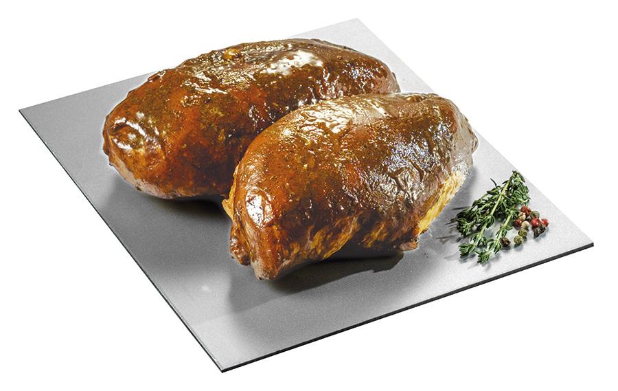 Pechugas de pollo doble doradas con especias