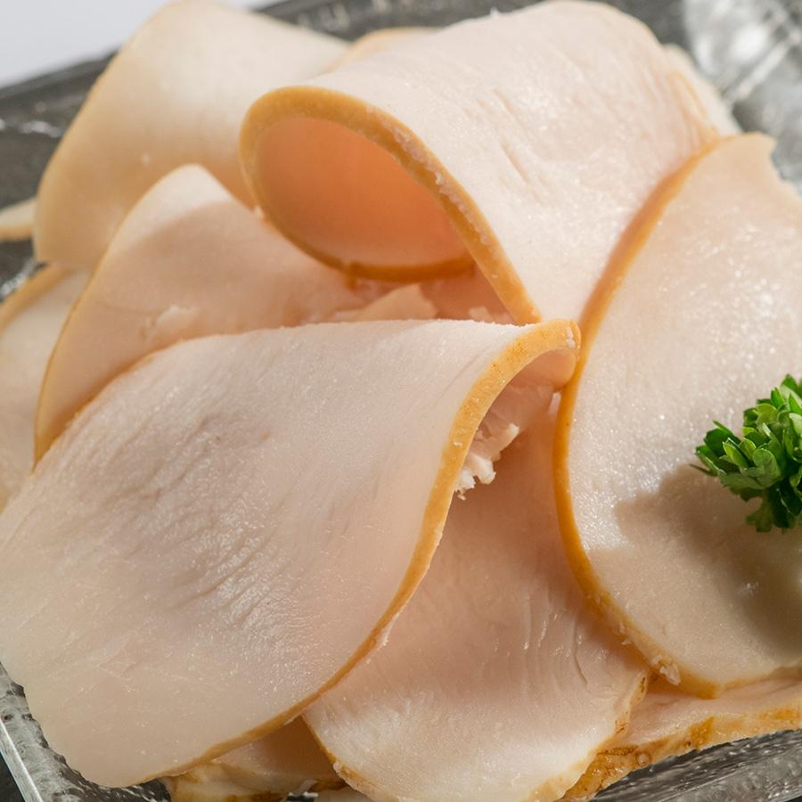 Lascas de pechuga de pollo asada