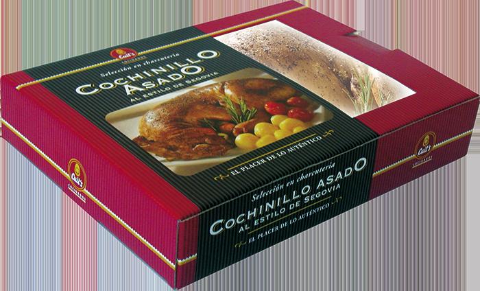 Cochinillo asado al estilo de Segovia