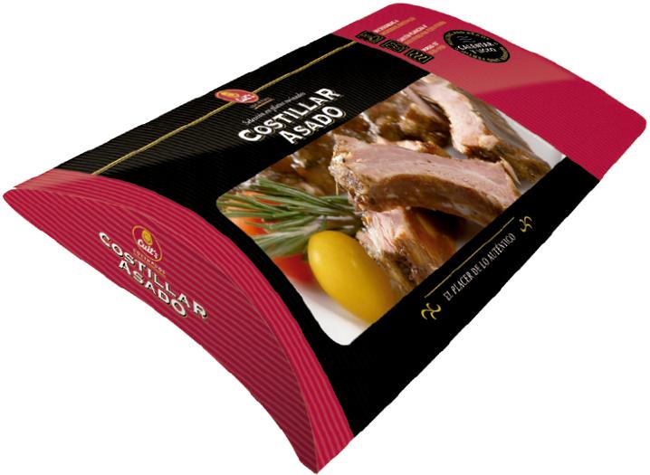 Costillas de cerdo asadas con salsa barbacoa